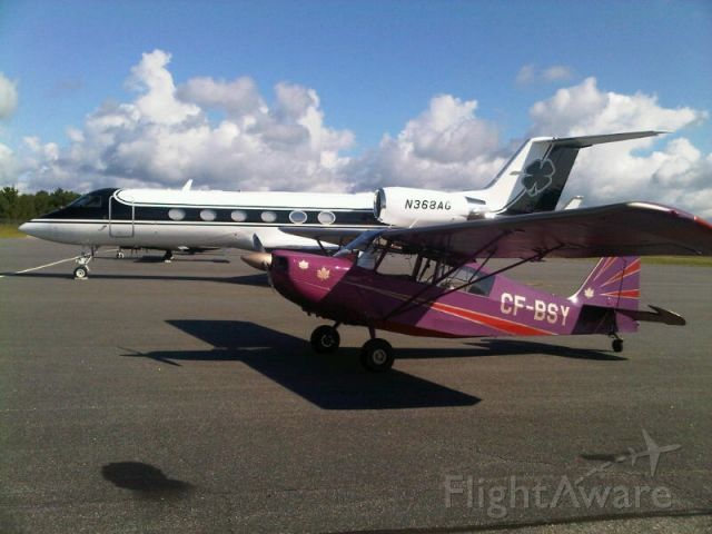 CHAMPION Sky-Trac (C-FBSY) - Parked at CYQA