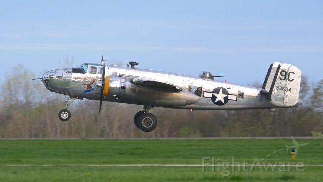 North American TB-25 Mitchell (N3774) - B-25D-35