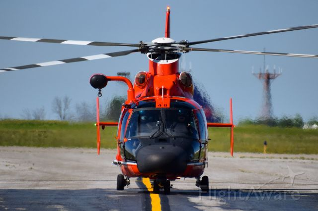 VOUGHT SA-366 Panther 800 (C6548) - United States Coast Guard <br />Eurocopter MH-65D Dolphin <br />Callsign: Helicopter 6548<br />Base: USCGAS Detroit <br /><br />** STAFF PICK OF THE WEEK 06/29/20 **