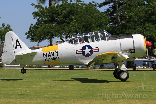 North American T-6 Texan (VH-WWA) - 2015 Langley Park Fly In , Perth City, Western Australia
