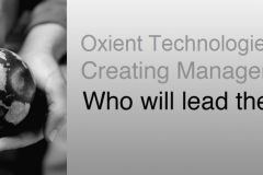 Oxient Technologies
