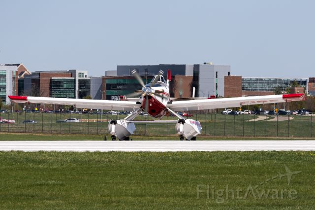 AIR TRACTOR Fire Boss (N3085Q) - One of two AT802As that stopped by Purdue briefly a couple weeks ago. Never thought I'd see one of these amazing machines at LAF let alone two! Stopped in for a quick top off and left.