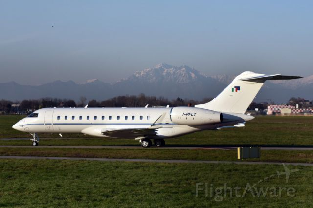 Bombardier Global Express (I-PFLY) - Bombardier Global 6000