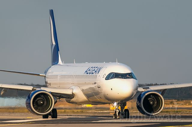 Airbus A321neo (SX-NAB)