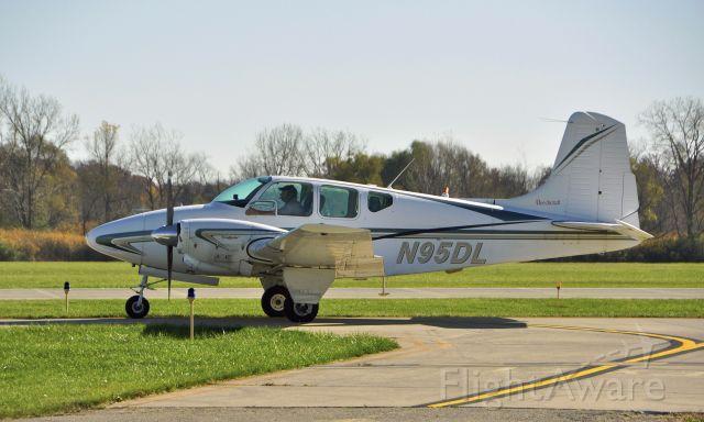 Beechcraft Travel Air (N95DL) - Beechcraft B95 N95DL in Ann Arbor
