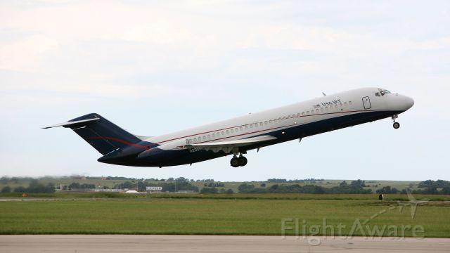 McDonnell Douglas DC-9-30 (N205US) - Departing RWY 35. Aug 27,2019