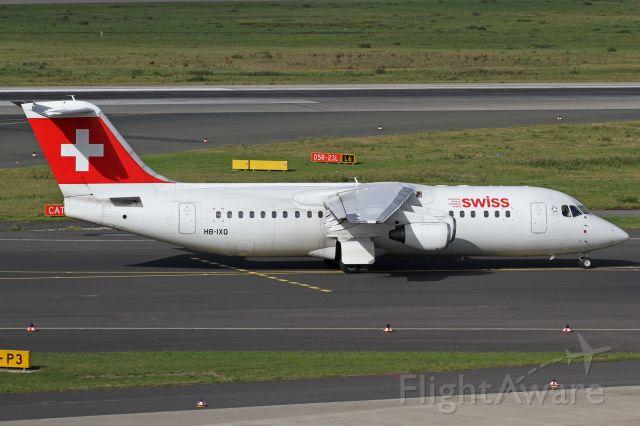 Avro RJ-100 Avroliner (HB-IXQ)