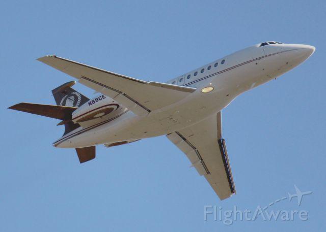 Dassault Falcon 2000 (N89CE) - At Shreveport Regional.