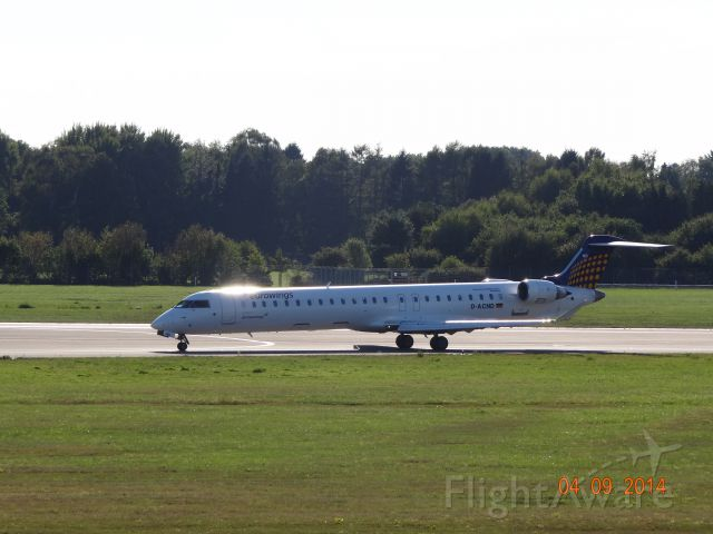 Canadair Regional Jet CRJ-900 (D-ACND) - D-ACND _ 4U _ DSC03611