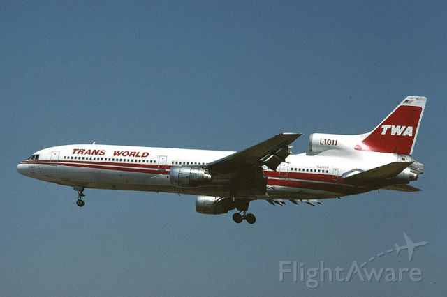 Lockheed L-1011 TriStar — - WONDERFUL PLANE L-1011 TRISTAR<br />TRANS WORLD AIRLINES<br />BEAUTIFUL MEMORIES