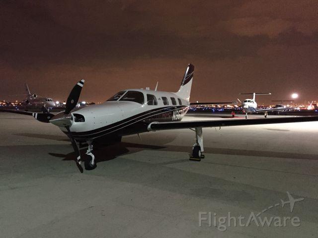 Piper Malibu Mirage (N961MA) - First flight at FL200, to Midway.