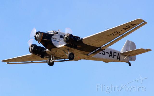 JUNKERS Ju-52/3m (ZS-AFA)