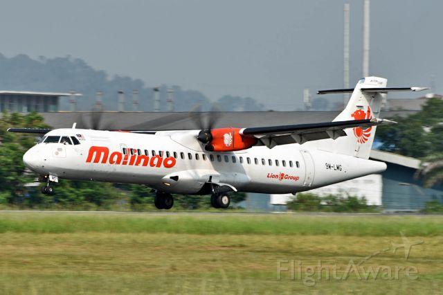 ATR ATR-72 (9M-LMG)