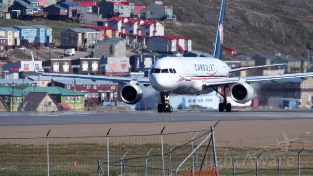 Boeing 757-200 (C-FGKJ) - At the Iqaluit airport. July 2, 2017