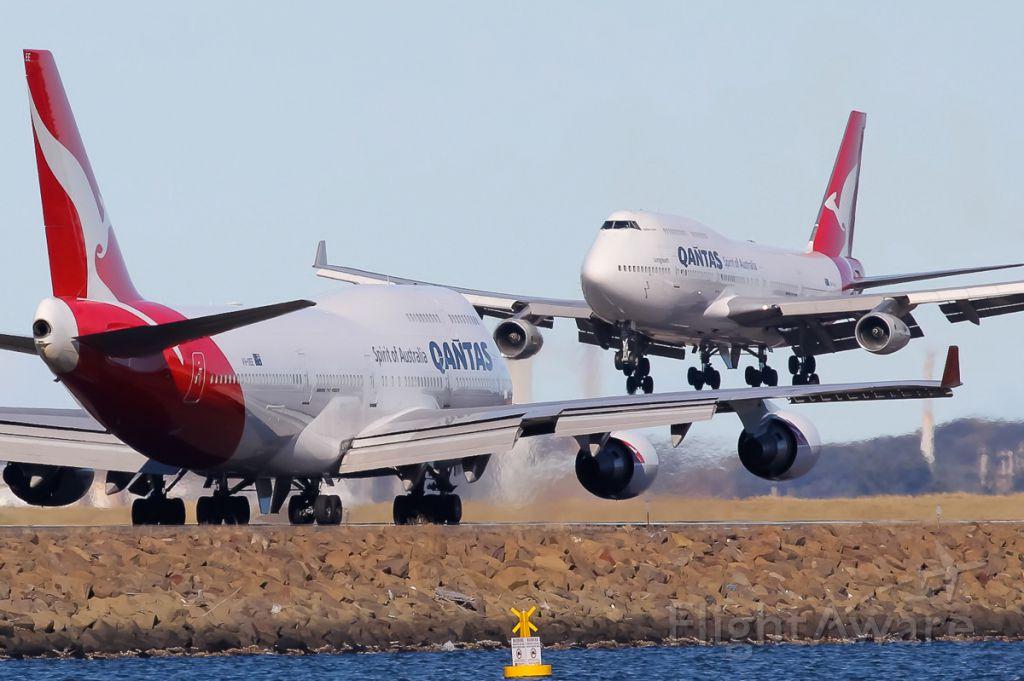 Boeing 747-400 (VH-OEE)