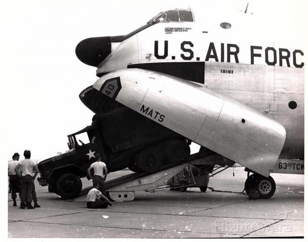 — — - c 124 credit A.F. Historial society photo  br / I worked on these air craft back in the '60 'S