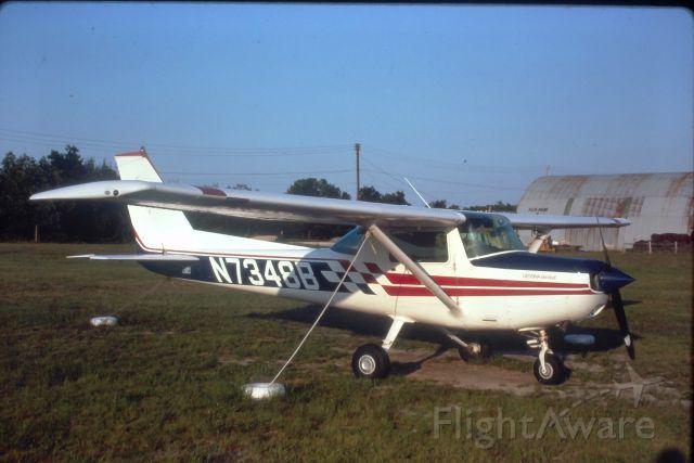 N7348B — - My solo plane in 1980