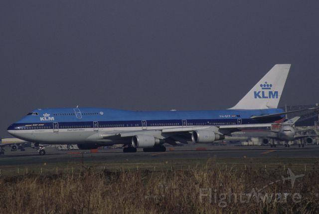 Boeing 747-400 (PH-BFF) - Departure at Narita Intl Airport Rwy34L on 1998/12/29