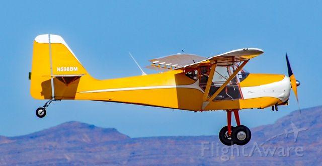Experimental  (N598BM) - N598BM 1994 Durbin John R Kitfox lV s/n CCU004 - North Las Vegas Airport (IATA: VGT, ICAO: KVGT,)<br />Photo: TDelCoro<br />February 15, 2020