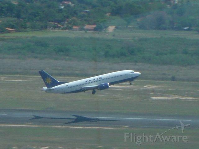 Boeing 737-700 — - Taking off RWY 02