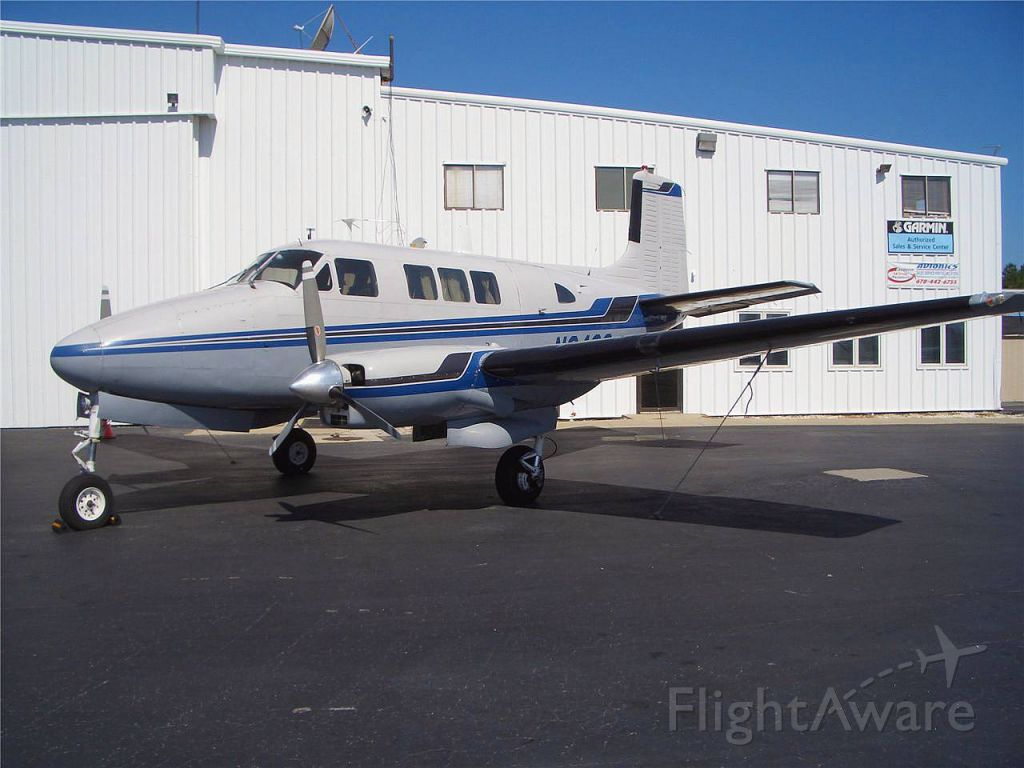 Beechcraft Queen Air (65) (N840S) - Aircraft to be used to fly round the world. http://www.worldflyers.org