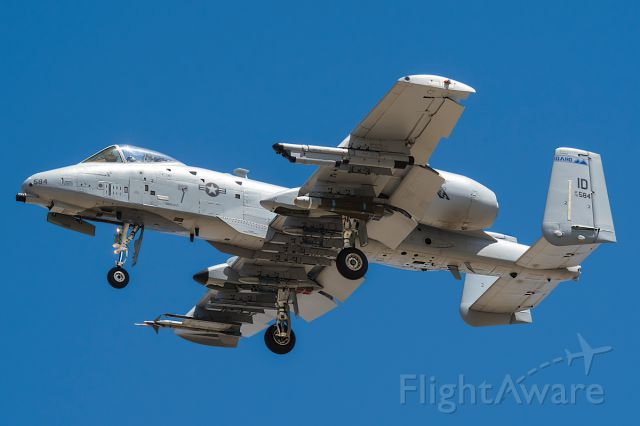 "Fairchild-Republic Thunderbolt 2 (78-0584) - Auger 11 arriving back from bbrrrrtttt-ing Full quality photo: <a rel=""nofollow"" href=""http://www.jetphotos.net/viewphoto.php?id=8017010&nseq=3"">http://www.jetphotos.net/viewphoto.php?id=8017010&nseq=3</a>"