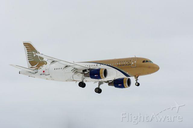 Airbus A319 (A9C-EU) - A9C-EU Gulf Air Kingdom of Bahrain.