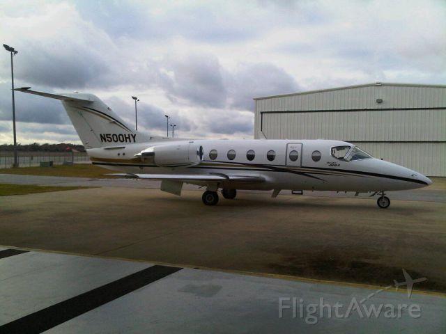 Beechcraft Beechjet (N500HY)