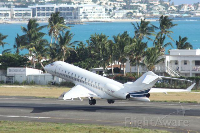 Bombardier Global Express (VP-BWB)