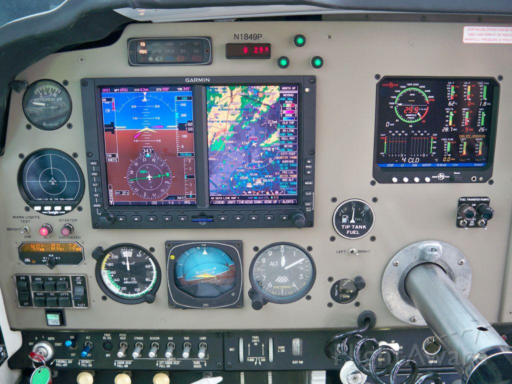 Beechcraft Bonanza (33) (N1849P) - New G600 Panel