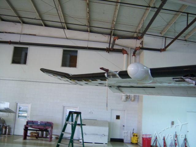 Cessna Caravan (N703PA) - A caravan with a broken wing.