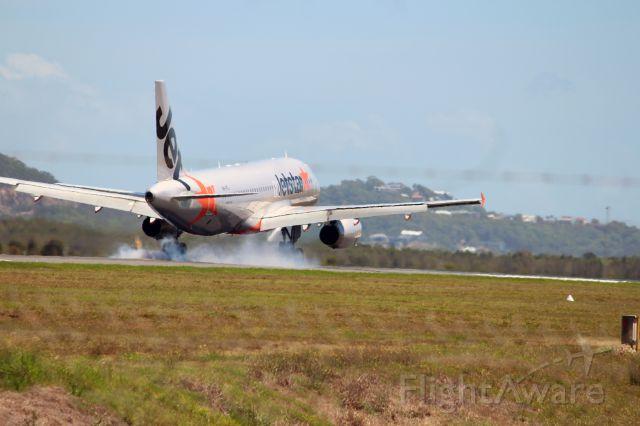 — — - VH-VFJ A320