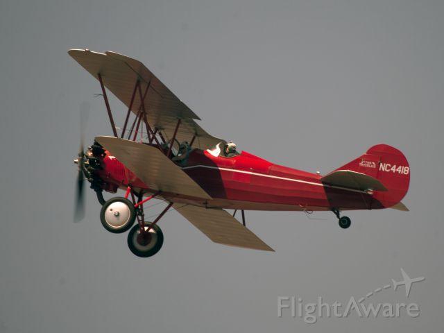 NAC4418 — - Sightseeing flights in a bi-plane, great fun!
