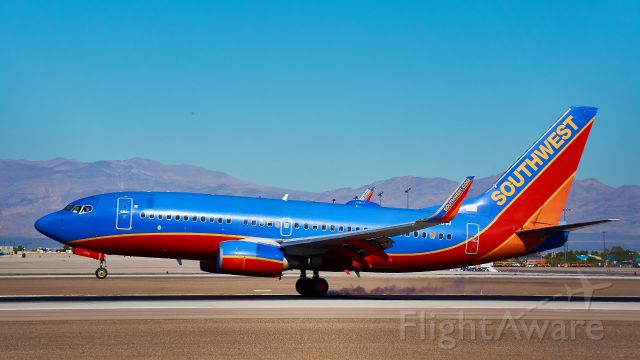 BOEING 737-300 — - Photo taken at McCarran International Airport in Las Vegas, Nevada.