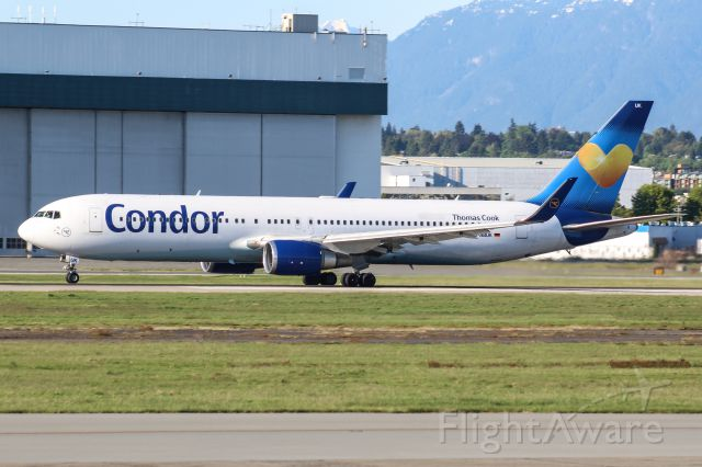 BOEING 767-300 (D-ABUK)