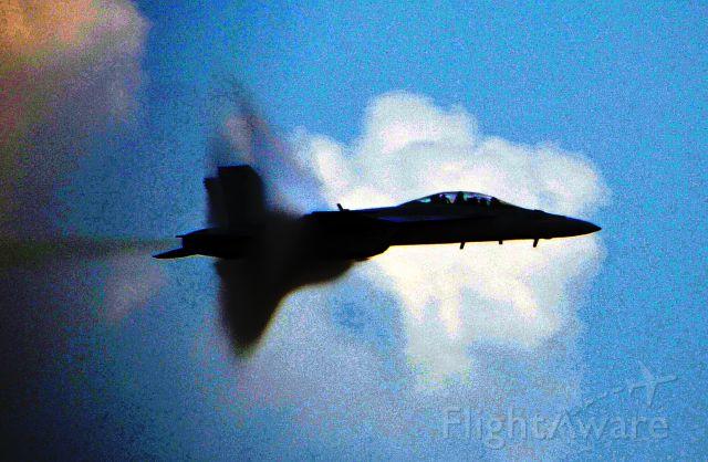 McDonnell Douglas FA-18 Hornet — - Equalized to show more details