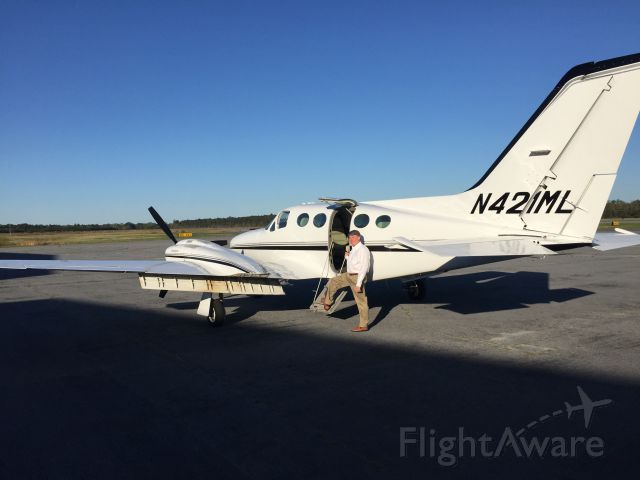 Cessna 421 (N421ML)