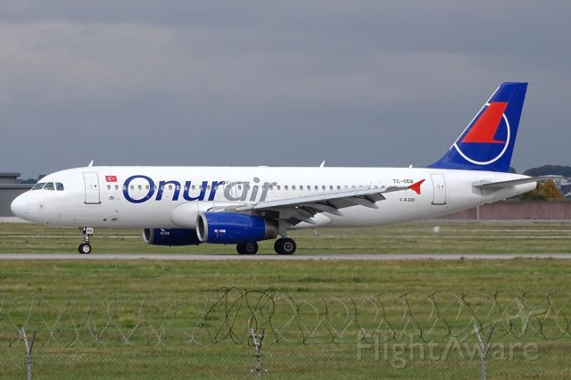 Airbus A320 (TC-ODA)