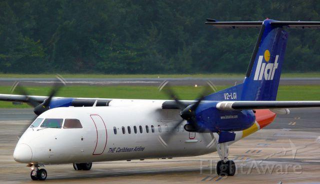 de Havilland Dash 8-300 (V2-LGI)