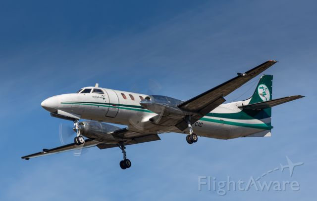 Fairchild Dornier SA-227DC Metro (ZK-CIC) - CVA214 arriving from the Chatham Islands.