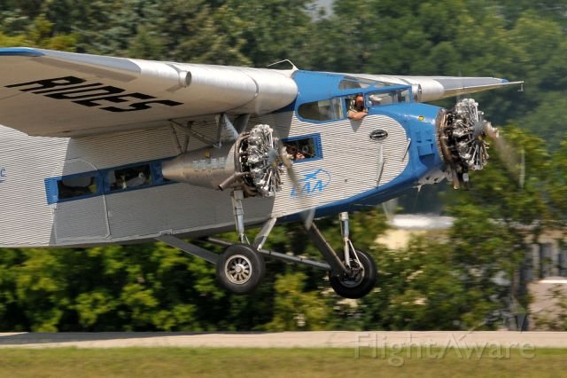 Ford Tri-Motor (NC8407) - Wings Over Waukesha, WI Airshow 2013
