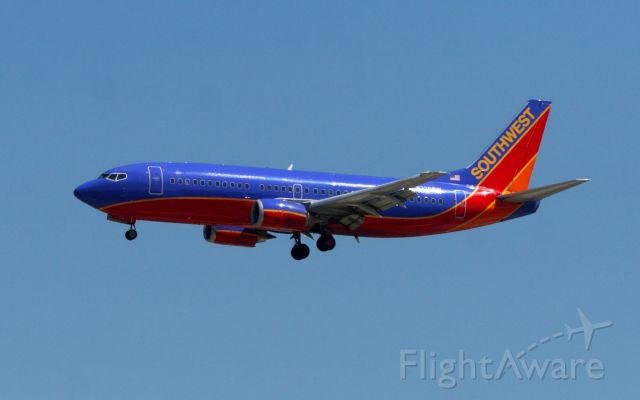 BOEING 737-300 (N336SW) - SWA270 on final at KJAN