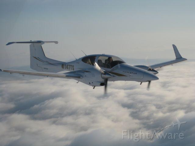 Diamond Twin Star (N147TS) - AERIAL PHOTO  HUNTSVILLE FLIGHT CENTER HUNTSVILLE, AL  Aircraft available for rental and training.