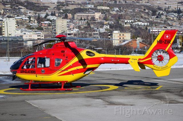 Eurocopter EC-635 (HB-ZIR) - colorful ambulance heli