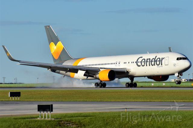 BOEING 767-300 (D-ABUA) - Condor Boeing 767-330(ER)(WL) arriving at YYC on June 28.