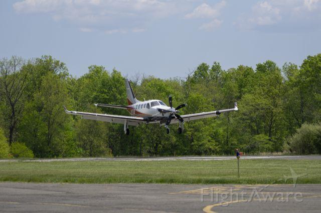 Daher-Socata TBM-900 (N975JB) - Shot 5/14/21 as plane was landing