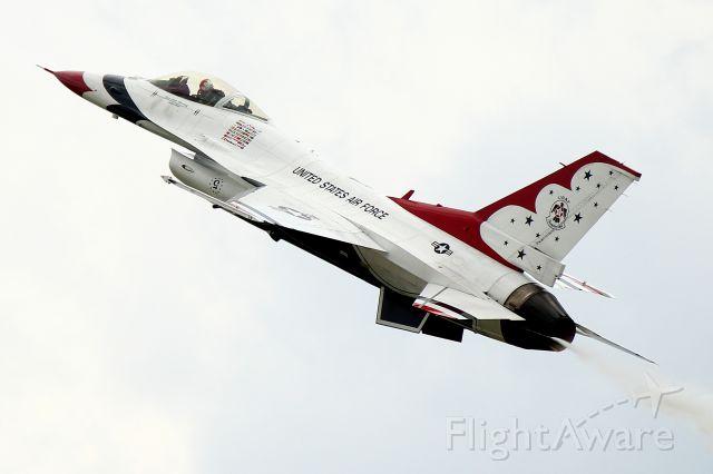 Lockheed F-16 Fighting Falcon — - USAF F-16CM