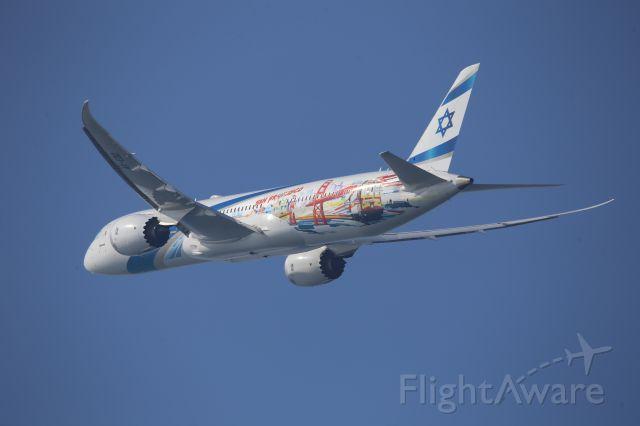 Boeing 787-9 Dreamliner (4X-EDD) - SAN FRANCISCO