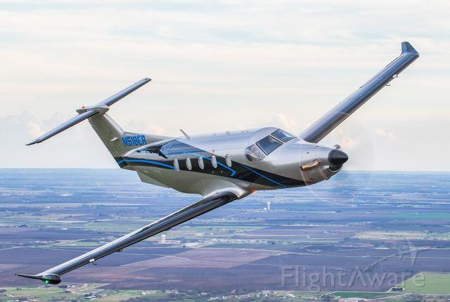 Pilatus PC-12 (N518ER)