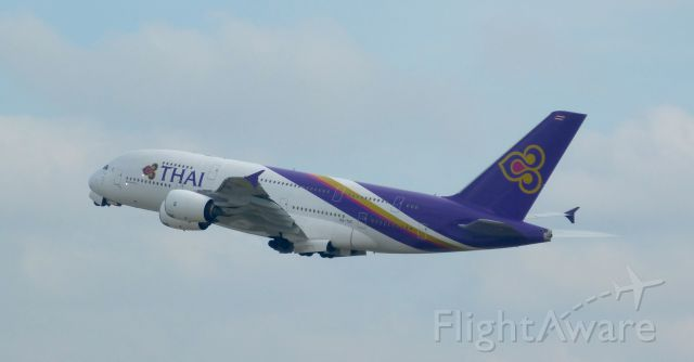Airbus A380-800 (HS-TUC) - Thai Airway's HS-TUC taking off from FRA.